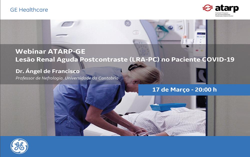 Formação Online - Lesão Renal Aguda Postcontraste (LRA - PC) no Paciente COVID-19
