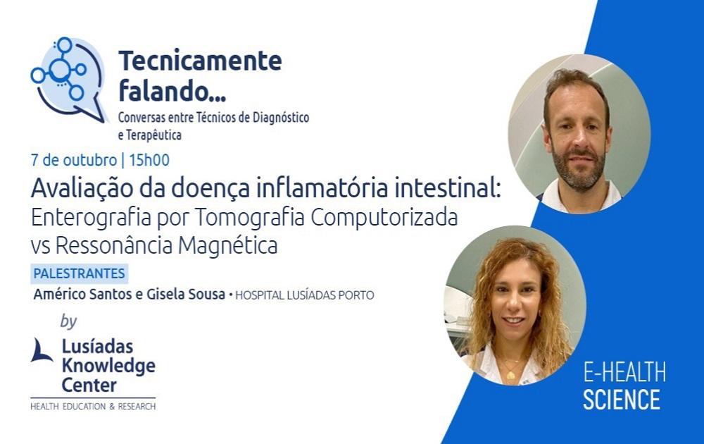 Avaliação da DII: Enterografia por Tomografia Computorizada vs Ressonância Magnética