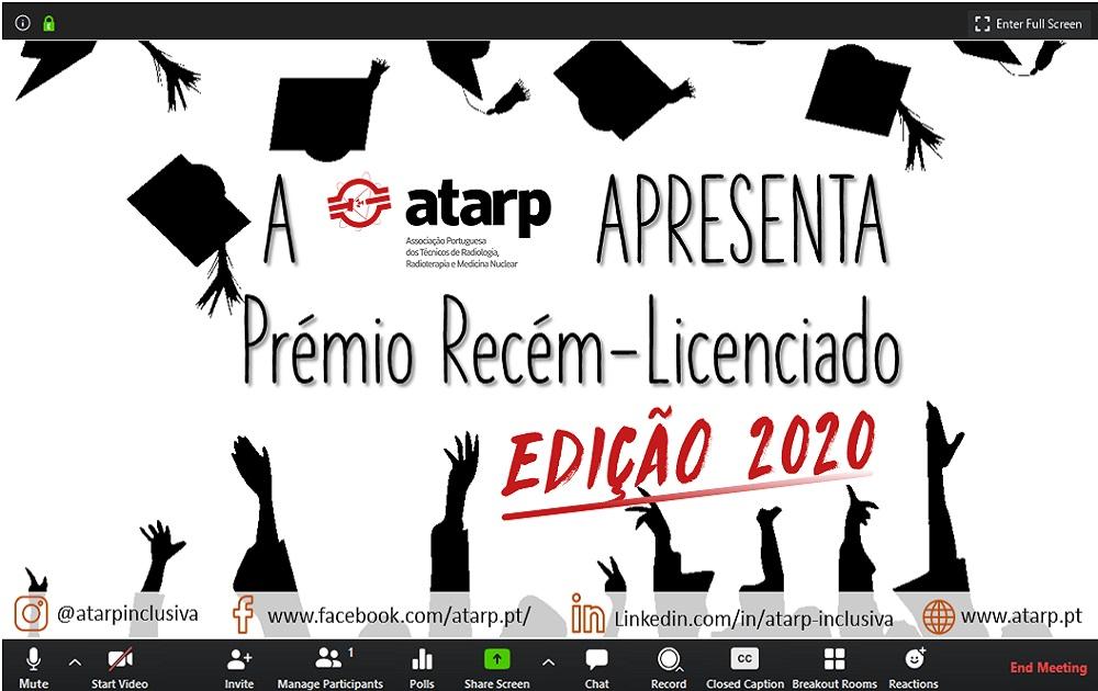 Prémio Recém Licenciado ATARP Edição 2020 - VENCEDORA